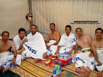 """""""Walaupun penat mengerjakan setiap perkara dalam haji, kami memanjat syukur alhamdulillah,""""  demikian kata-kata terpancul dari setiap mulut anggota delegasi Nusa Mahsuri."""