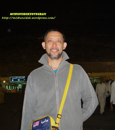 Datuk Misbun di Bukit Mina.