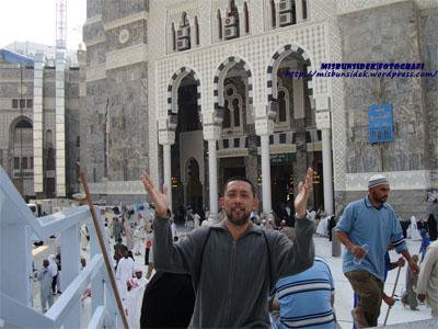 Datuk Misbun  melahirkan rasa syukur dapat melawat beberapa masjid utama semasa mengerjakan haji di Mekah.