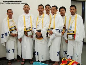 Delegasi Nusa Mahsuri….dari kiri  terdiri daripada Amir diikuti Datuk Misbun, Jalani, Rashid (dibelakang), Rahman , Shadan dan Roslin.